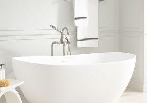 What is Freestanding Bathtub Winifred Resin Freestanding Tub Bathroom