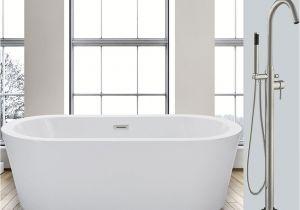What is Freestanding Bathtub Woodbridge 59 Freestanding Bathtub B 0012 with Free