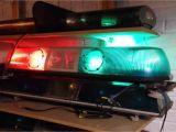 Whelen Interior Light Bars Whelen Model 80 Red Blue Strobe Lightbar Youtube