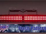 Whelen Visor Lights Flash Pattern Whelen Slim Miser Led Dash Light Youtube