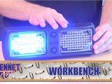 Whelen Visor Lights Whelen Flatlighter Led Visor Light Youtube