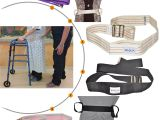 When Using A Transfer Belt to Transfer A Person to A Chair or Wheelchair Grasp the Belt at Amazon Com Physical therapy Gait Belt with Metal Buckle Black