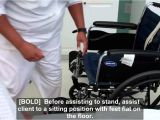 When Using A Transfer Belt to Transfer A Person to A Chair or Wheelchair Grasp the Belt at Cna Essential Skills Transfer From Bed to Wheelchair Using