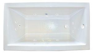 "Whirlpool Bathtub 60 X 30 Hydro Massage Products Zen 60"" X 30"" Undermount Whirlpool"