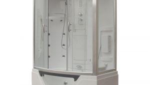 Whirlpool Bathtub Enclosures Steam Planet Hudson 59 In X 33 In X 88 In Steam Shower