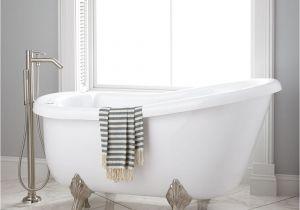 Whirlpool Bathtub Hardware Signature Hardware Pearson Acrylic Clawfoot Whirlpool Tub