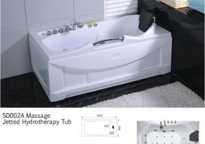 "Whirlpool Bathtub Ireland 60"" White Bathtub Whirlpool Jetted Hydrotherapy 19 Massage"