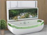 Whirlpool Bathtub with Tv Whirlpool Bath Tub with Oled Tv Folds Into Basin