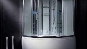 Whirlpool is Bathroom Augustus Steam Shower with Whirlpool Bathtub