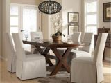 White Linen Parson Chair Slipcovers Dining Room Slipcover Maribo Intelligentsolutions Co