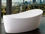 Will Bathtubs Large Modern Dune Freestanding Bathtub