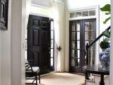 Wilson S Paint Floor Coverings Black Internal Doors Pinterest Curtain Door Door Curtains and