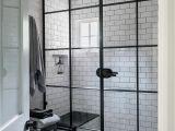 Window Pane Shower Door 10 Beyond Stylish Bathrooms with Patterned Encaustic Tile