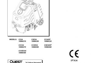 Windsor Floor Machines Windsor Chariot Cs24 Csx24 Cse24 Csxe24 Eng Battery Electricity