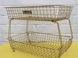 Wire Chafing Dish Rack Uk Vintage Beanstalk Extending Rack Industrial Wire Basket Rustic
