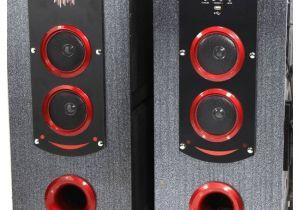Wireless Bluetooth Floor Standing Speakers Buy P Tech T 12000 Floorstanding Speakers Black Online at Best
