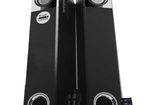 Wireless Bluetooth Floor Standing Speakers Buy Zebronics Zeb Bt765rucf tower Speaker with Bluetooth Fm Usb