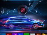 Wireless Interior Led Lights for Cars 2018 5050 9 Led Car Interior Underdash Lighting Kit Smart sound