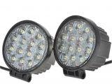 Wireless Trailer Lights 4 Inch 42w Led Work Light Flood Offroad Light for Truck Trailer Boat