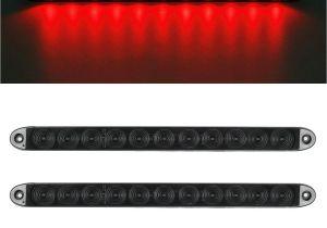 Wireless Trailer Lights Discount 15 Smoke Red 11 Led Waterproof Car Trailer Truck Stop Turn