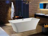 "With Bathtubs Modern Modern White Acrylic Freestanding 67"" Bathroom soaking"