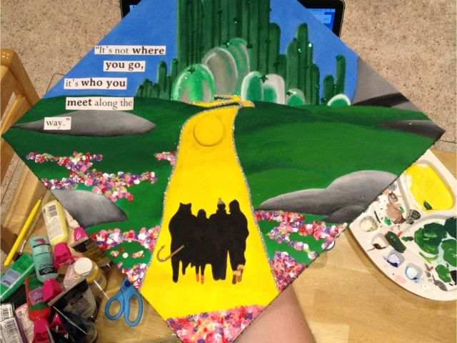 Wizard Of Oz Decoration Ideas Wizard Of Oz Grad Cap Idea Diy