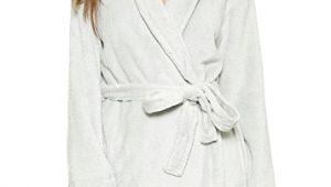 Women's Bathrobes Calvin Klein Calvin Klein Underwear Fluffy Robe