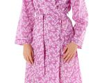 Women's Bathrobes Terry Cloth Lady Selena Women S Summer Kimono Bath Robe Dressing Gown