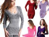 Women's Warm Bathrobes Women S Winter Warm Long Johns thermal Underwear Body