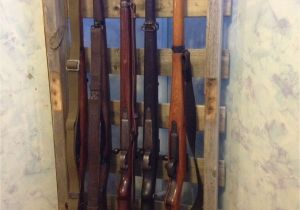 Wood Gun Rack Plans took An Old Pallet and Made A Vertical Gun Rack for My Wwii Firearms