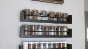 Wood Spice Rack for Wall Kitchen Wall Spice Rack Small Changes Big Impact Pinterest
