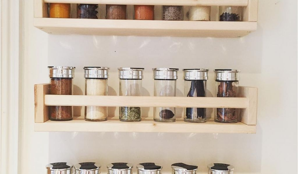 Wood Spice Rack For Wall New Wood Spice Rack For Wall Spice Rack Ideas For The Kitchen And Pantry