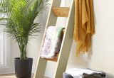 Wood Wall Mounted Quilt Rack Show Off Your Favorite Quilts Throws and Blankets by Draping them