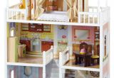 Wooden Barbie Dollhouse Plans Kidkraft Savannah Dollhouse with Furniture Dolls Dollhouses and