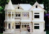 Wooden Barbie Dollhouse Plans Victorian Barbie Doll House Woodworking Plans Pattern Only No