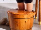 Wooden Foot Bathtub Different Sizes Wooden Foot Bath Bucket with Best Quality