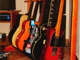 Wooden Guitar Case Rack Plans Diy Pallet Guitar Stand My Stuff Pinterest Guitar Stand