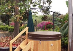 Wooden Outdoor Bathtub 2 1m 3 7 Personen Outdoor Chinese Red Cedar Hout