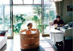 Wooden Outdoor Bathtub Japanese Wooden Ofuro Tub