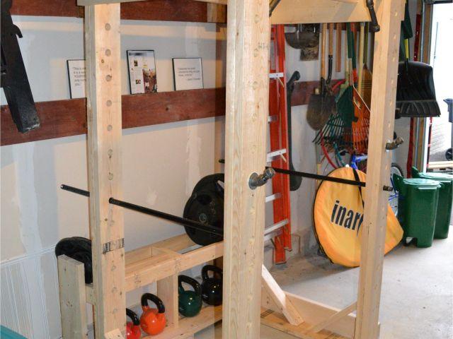 Wooden Squat Rack Diy Wood Squat Rack Plans Quick Woodworking