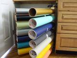 Wooden Vinyl Roll Rack Storage Racks Storage Racks for Vinyl Rolls
