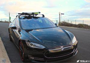 Yakima Tesla Roof Rack Tesla Model S Roof Rack System Whispbar Review