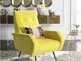 Yellow Velvet Accent Chair Safavieh Mid Century Modern Retro Aida Velvet Yellow Club