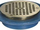 Zurn Square Floor Drain Covers Zurn Fd2322 Ip2 Low Profile Adjustable area Floor Drain 2 Ips